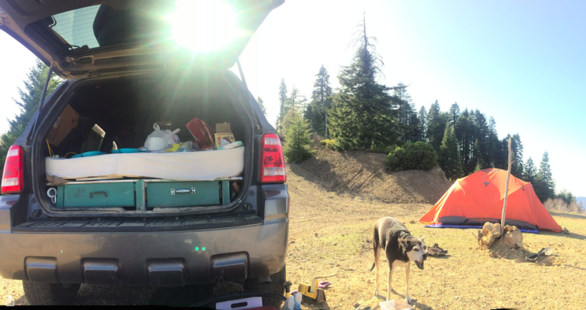 Ford Escape Camping >> Sleeping In A Ford Escape Really Build A Platform Bed Easily